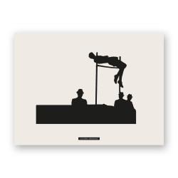 """Print """"HIGH JUMP 01"""""""