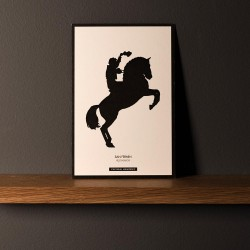 """Postcard """"REJONEADOR"""""""