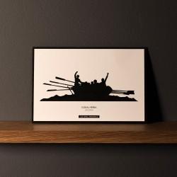 """Postcard """"ESTROPADA"""""""