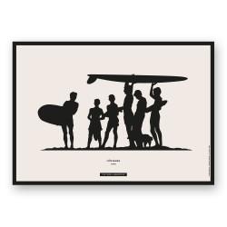 "Print ""SURFERS"""