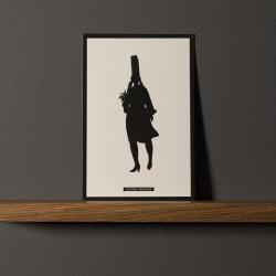 """Postcard """"COIFFE BIGOUDÈNE"""""""