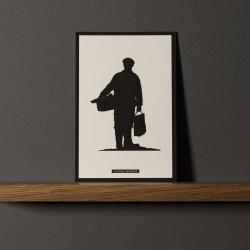 "Postcard ""PÊCHEUR"""