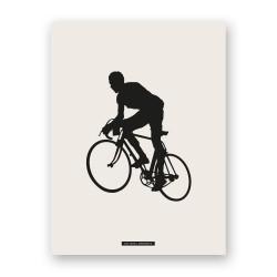 "Affiche ""CYCLISME 02"""
