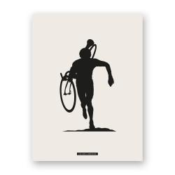 "Affiche ""CYCLISME 01"""